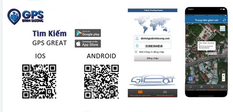 Tải phần mềm Định Vị GPS AT4