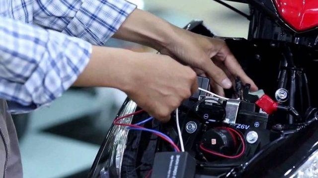 Phân biệt các loại dây của xe trước khi đấu nối