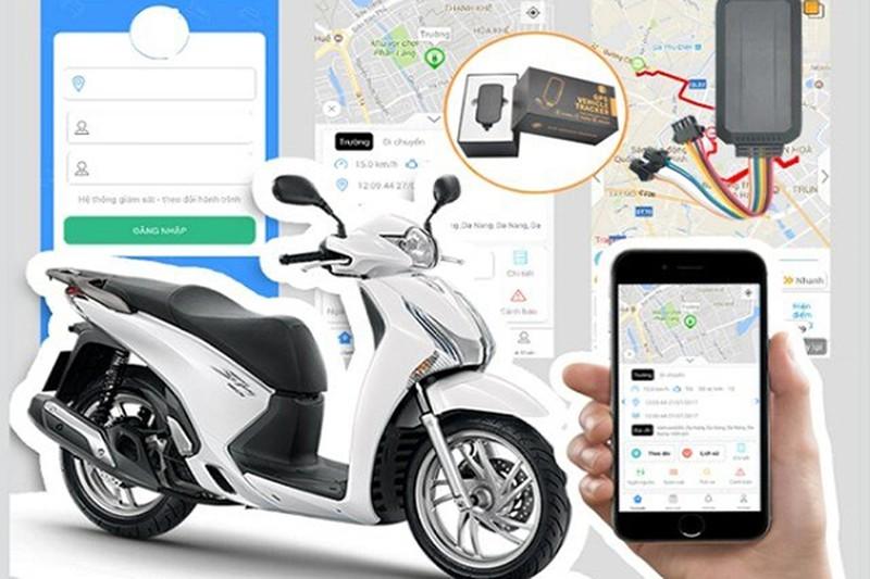 Lắp gps xe máy có tác dụng quan trọng trong việc bảo vệ tài sản